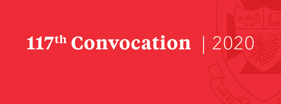 convocation banner