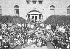 archival photo of campus