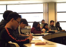 UWinnipeg students in classroom