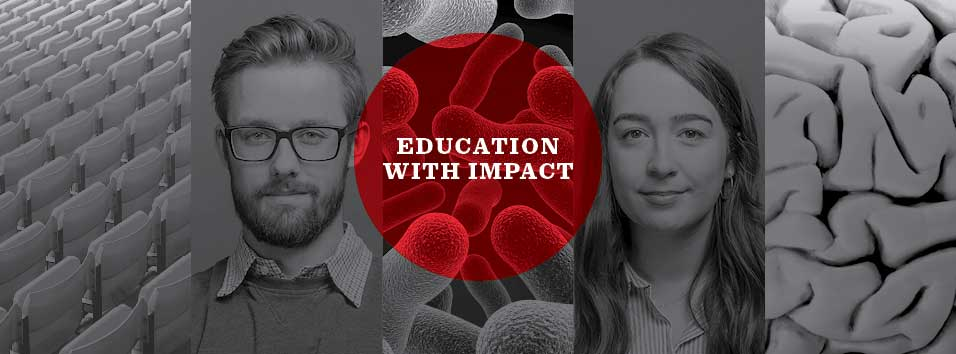 Education with impact campaign images