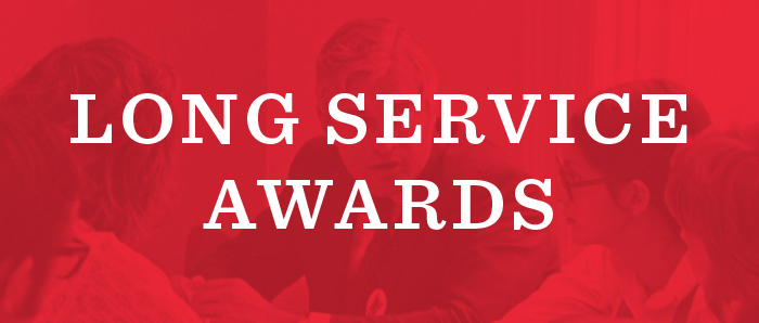 Long Service Awards | Event Services | The University of ...