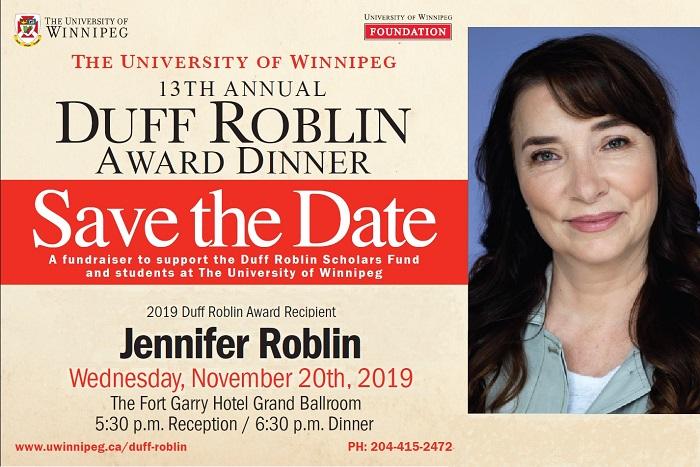 Duff Roblin Dinner 2018