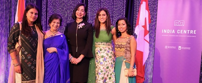 5th Annual India Centre Awards Dinner India Centre The University Of Winnipeg