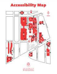 University Of Winnipeg Map Maps | Maps | The University of Winnipeg