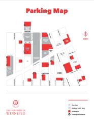 Maps Maps The University Of Winnipeg