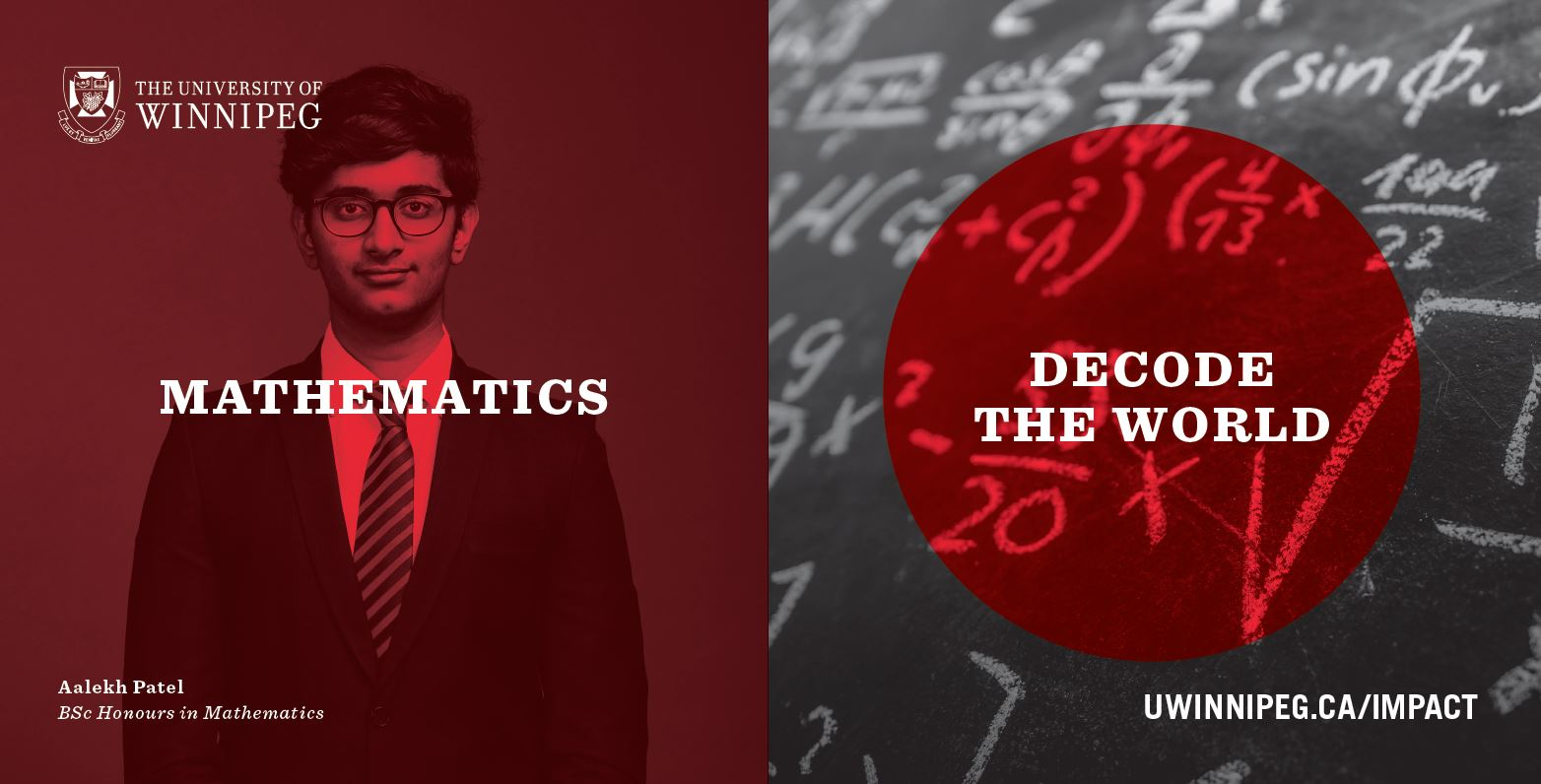 Home | Mathematics and Statistics | The University of Winnipeg
