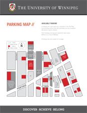 University Of Winnipeg Map Home | Parking | The University of Winnipeg